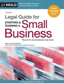 Legal Guide for Starting & Running a Small Business (Paperback)