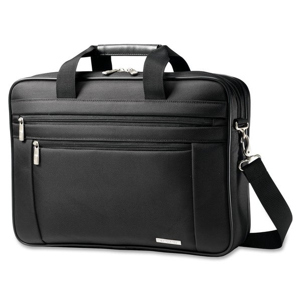 "Samsonite Classic Carrying Case (Briefcase) for 15.6"" Notebook - Blac"