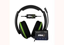 Xbox 360 -Turtle Beach Ear Force DXL1 Dolby Surround Sound Gaming Headset