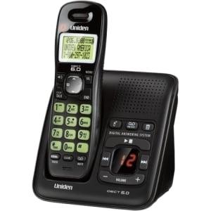 Uniden DECT Cordless Phone - Black