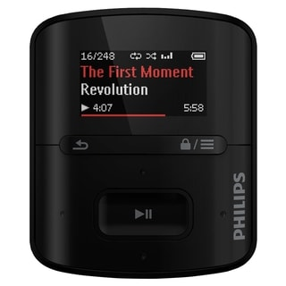 Philips GoGear SA4RGA04KF 4 GB Flash MP3 Player