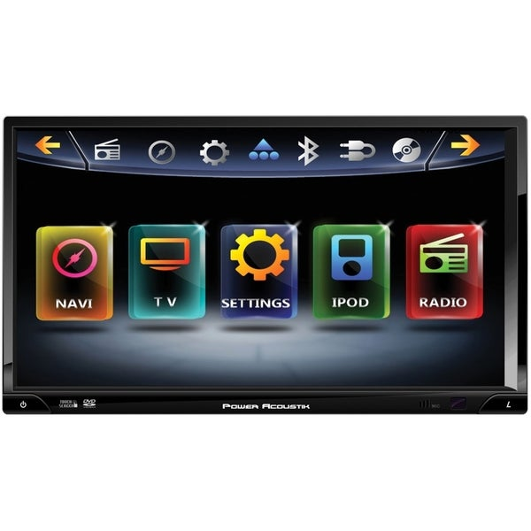 "Power Acoustik Inteq PD-769NB Car DVD Player - 7"" Touchscreen LCD Dis"