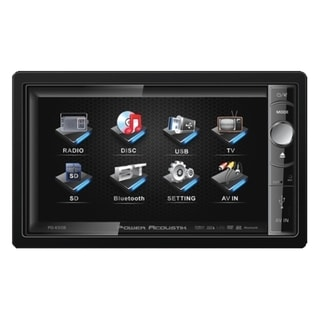 Power Acoustik PD-650B Car DVD Player - 6.5
