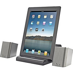 iHome iDM15 Rechargeable Portable Bluetooth Speakers with Speakerphone for iPad/iPod/iPhone