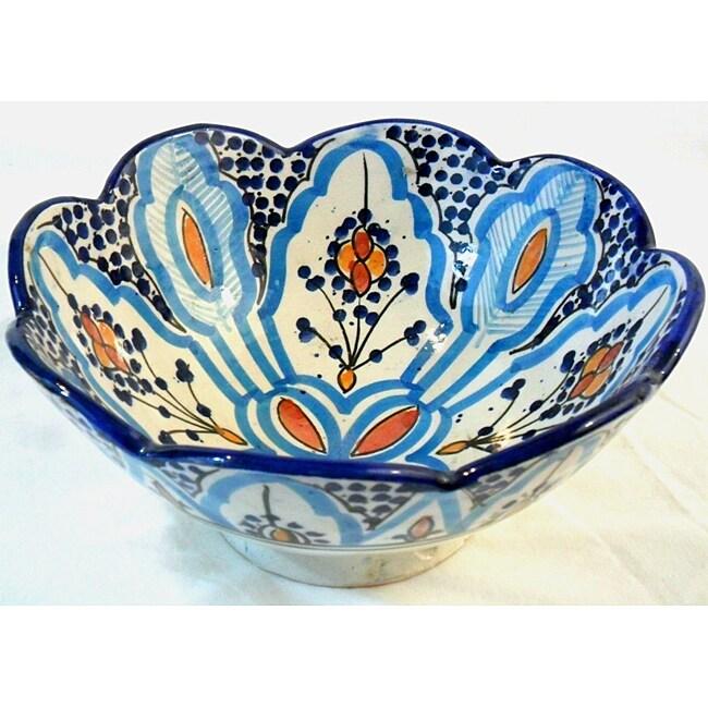 Ceramic Cafe Nada Bowl Morocco