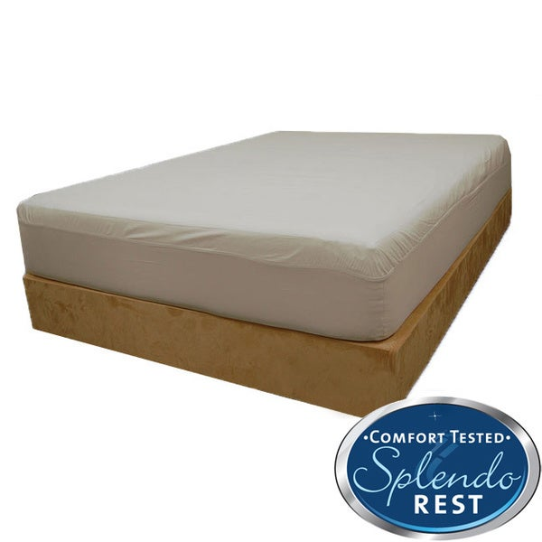 Splendorest Cotton Outlast Cooler Comfort Queen/ King-size Fitted Mattress Cover