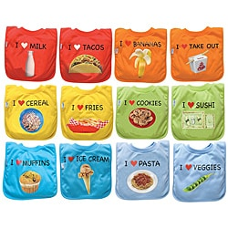 iPlay Favorite Food Absorbent Bib