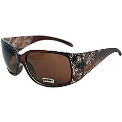 Women's Topaz Brown Fashion Sunglasses