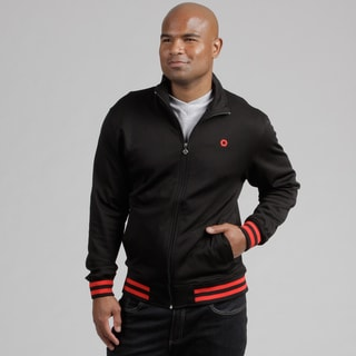 South Pole Men's Black Track Jacket