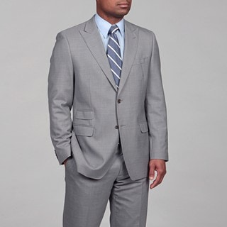 Lauren by Ralph Lauren Men's Grey Wool 2-button Suit