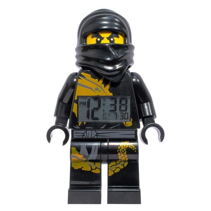 LEGO Ninjago Cole Mini-figure Alarm Clock with Detachable Staff