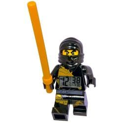 LEGO Ninjago Cole Mini-figure Alarm Clock with Detachable Staff