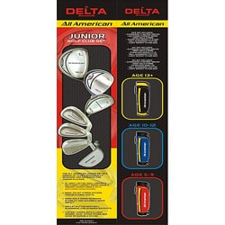 Delta All American 5-piece Junior Golf Set Package with Bag