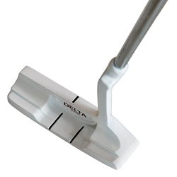 Delta Golf Men's Shot Control #600 White Left-hand Putter