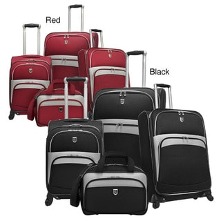 Beverly Hills Country Club Expandable Spinner 4-piece Luggage Set