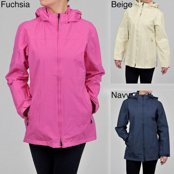 Nuage Women's 'ALMA' Nylon Hooded Jacket