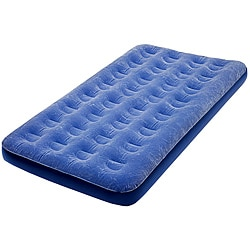 Pure Comfort Low Profile Twin Size Flock Top Air Bed