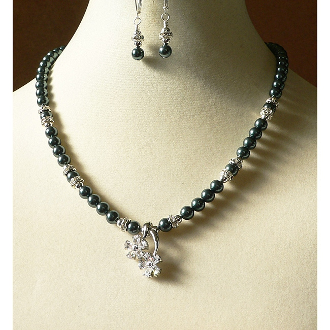 'Tahitian Dream' Necklace and Earring Set