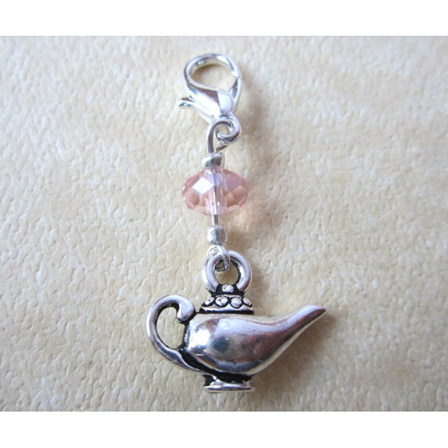 'Alladin's Lamp' Crystal Charm (USA)