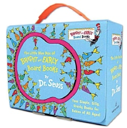 The Little Blue Box of Bright and Early Board Books (Board book)