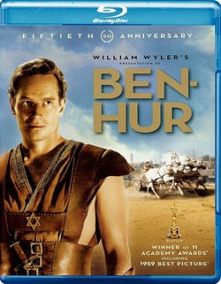 Ben Hur: 50th Anniversary Ultimate Collector's Edition (Blu-ray Disc)