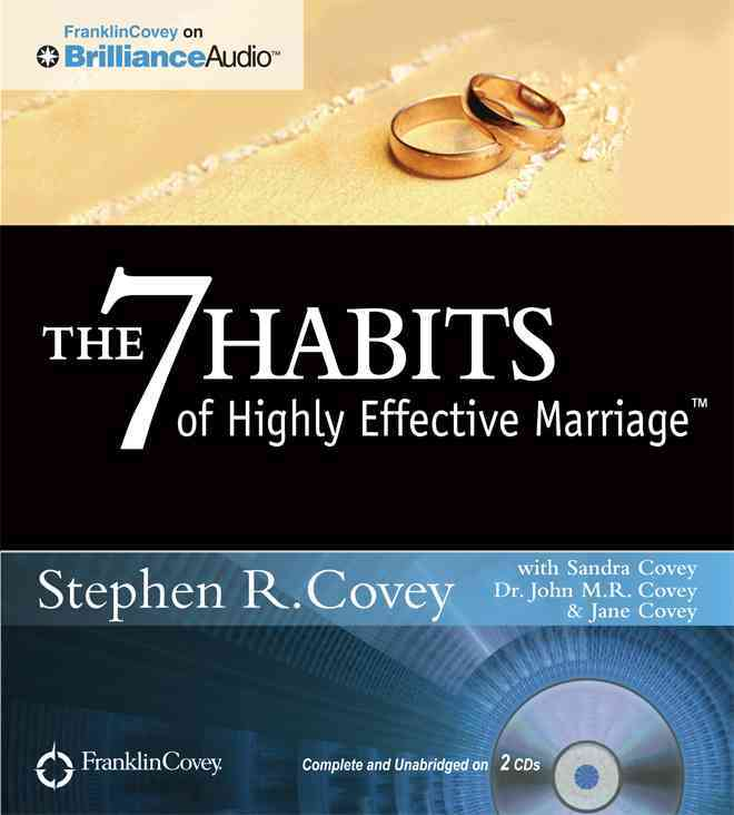 The 7 Habits of Highly Effective Marriage (CD-Audio)