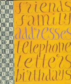 A Literary Address Book (Address book)