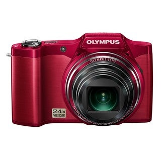 Olympus SZ-12 14MP Red Digital Camera