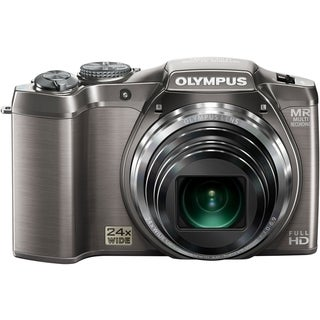 Olympus SZ-31MR iHS 16 Megapixel Compact Camera - Silver