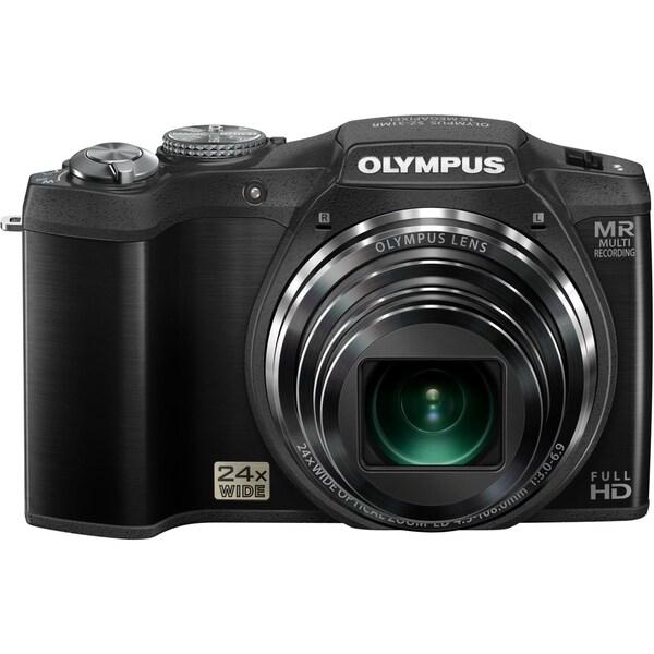 Olympus SZ-31MR iHS 16 Megapixel Compact Camera - Black