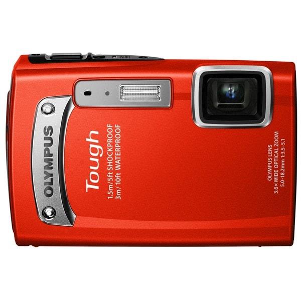 Olympus TG-320 Tough 14MP Red Digital Camera
