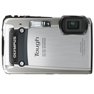 Olympus Tough TG-820 iHS 12MP Silver Digital Camera