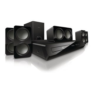 Philips Immersive Sound HTS3531 5.1 Home Theater System - 300 W RMS -