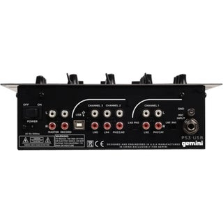 gemini Professional PS3-USB Audio Mixer