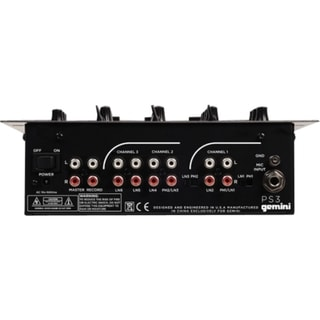 gemini Professional PS3 Audio Mixer