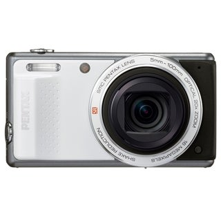 Pentax Optio VS20 16 Megapixel Compact Camera - White