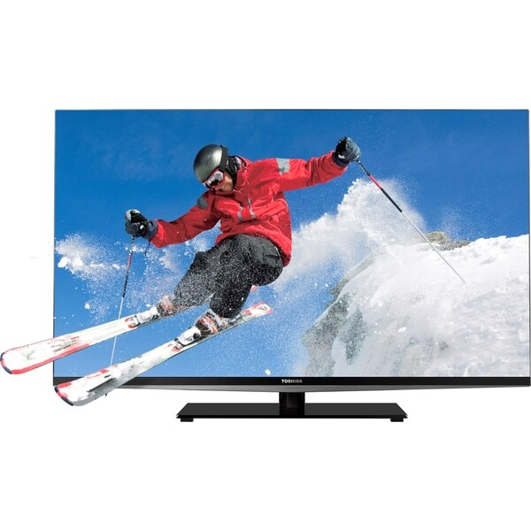 "Toshiba Cinema L7200U 55L7200U 55"" 3D 1080p LED-LCD TV - 16:9 - HDTV"