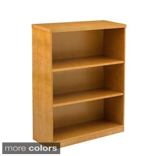 Mayline Luminary 3-Shelf Bookcase