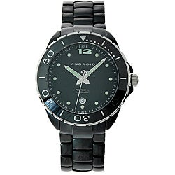 Android Women's Exotic Black Ceramic Watch