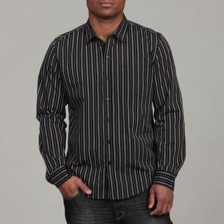 Calvin Klein Jeans Men's 'Degas Stripe' Woven Shirt