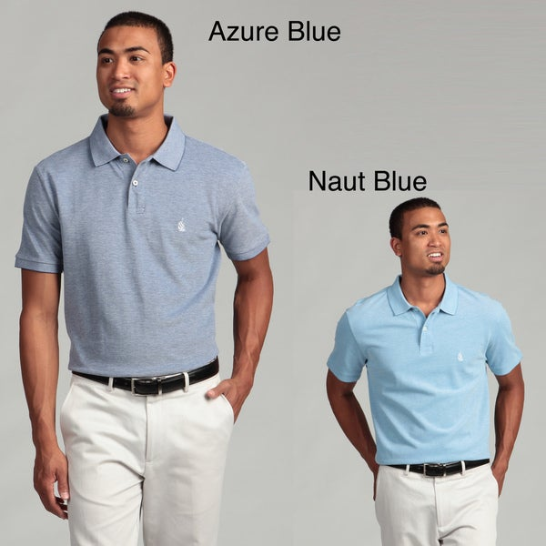 Nautica Men's Button-top Polo Shirt