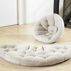 Natural Beige Fresh Futon Nest