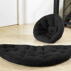 Black Fresh Futon Nido