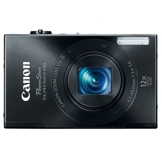 Canon PowerShot ELPH 520HS 10.1MP Black Digital Camera