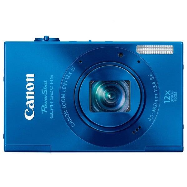 Canon PowerShot ELPH 520HS 10.1MP Blue Digital Camera