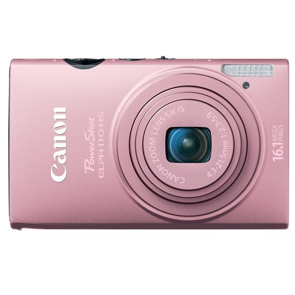Canon PowerShot ELPH 110HS 16.1MP Pink Digital Camera