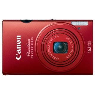 Canon PowerShot ELPH 110HS 16.1MP Red Digital Camera