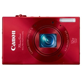 Canon PowerShot ELPH 520HS 10.1MP Red Digital Camera