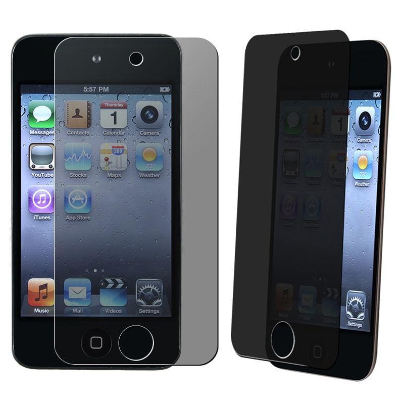 Privacy Screen Filter for Apple iPod Touch 4th Generation (Pack of 2)