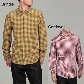 Canterbury of New Zealand Men's Checkered Woven Shirt
